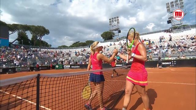 Kiki Bertens verslaat Australische Daria Gavrilova op WTA-toernooi