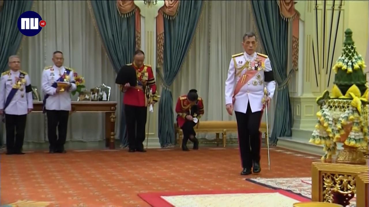 Maha Vajiralongkorn volgt overleden vader Bhumibol op
