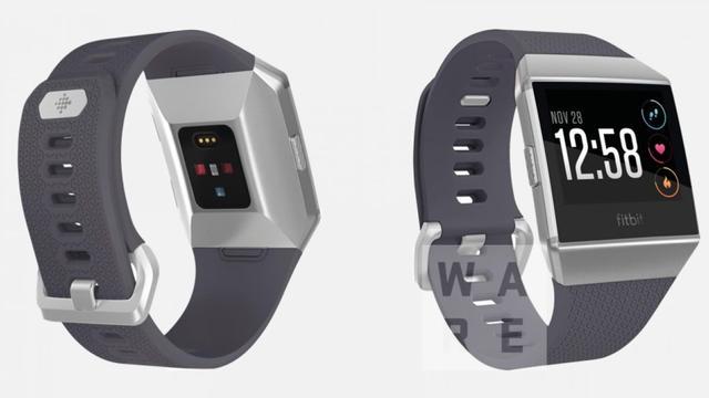 Gelekte afbeelding van smartwatch Fitbit