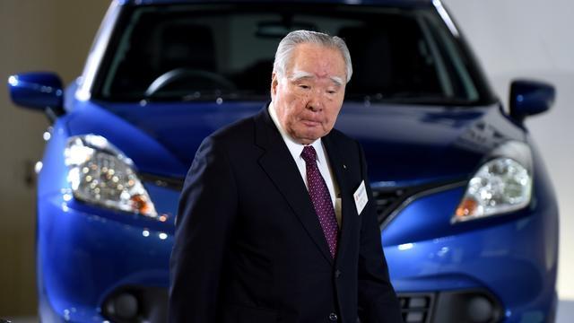 Topman Suzuki stapt op na schandaal met foute testmethodes