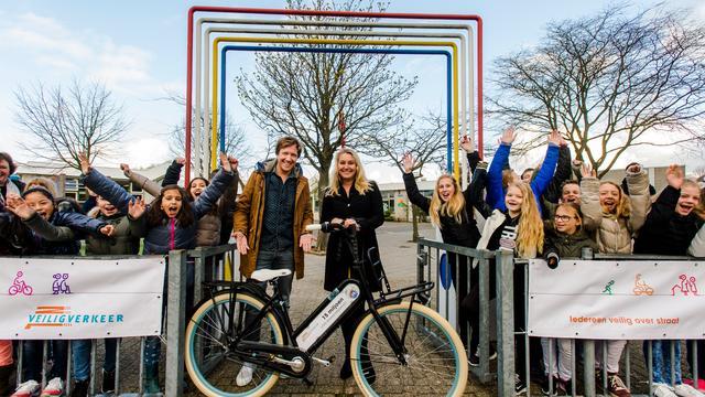 Vijftien miljoenste VVN Verkeersdiploma uitgereikt in Leiden