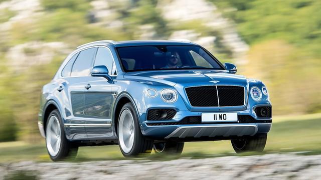Bentley Bentayga nu ook als Diesel
