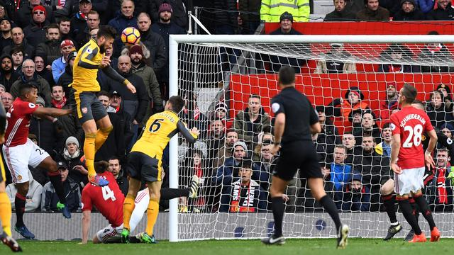 Arsenal komt in slotfase op gelijke hoogte met Manchester United