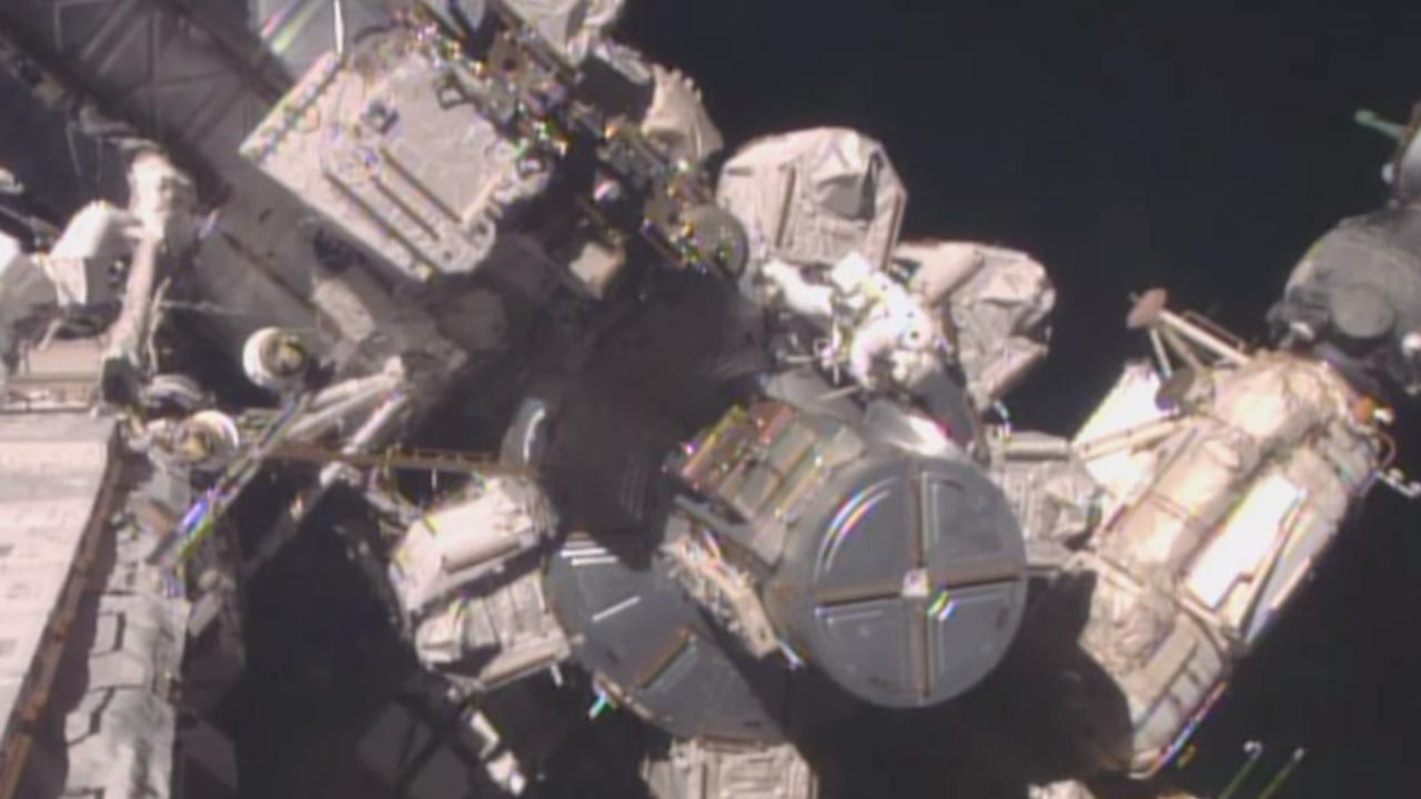 Astronauten voeren succesvol onderhoud uit aan ruimtestation ISS