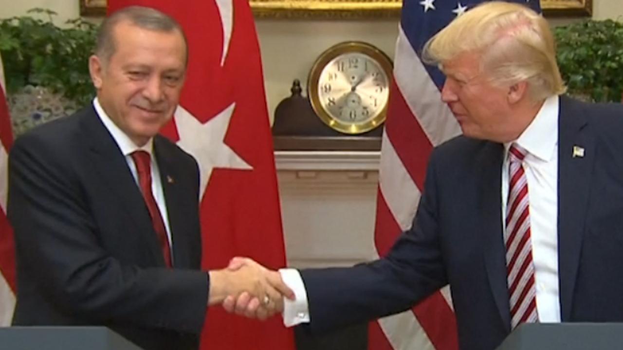 Trump noemt band met Turkije 'onverslaanbaar'