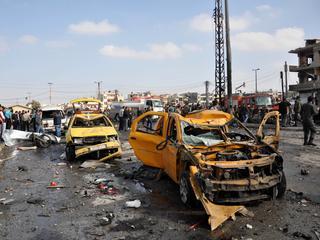 Eerder op zondag ook al aanslagen in Homs