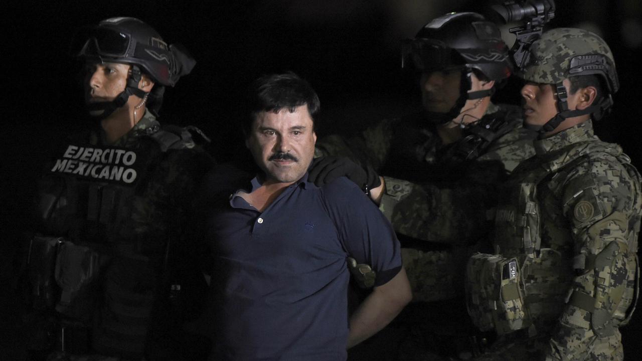 Beelden van arrestatie El Chapo gepubliceerd