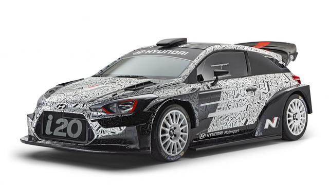 Hyundai i20 WRC bijna klaar