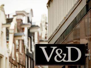 De kast was afkomstig van het V&D hoofdkantoor in Amsterdam