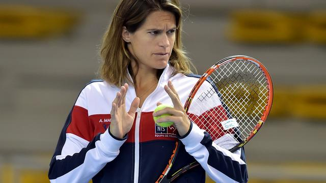 Zwangere Mauresmo stopt als captain Frans Fed Cup-team