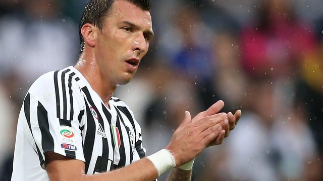 Juventus moet geblesseerde Mandzukic lange tijd missen