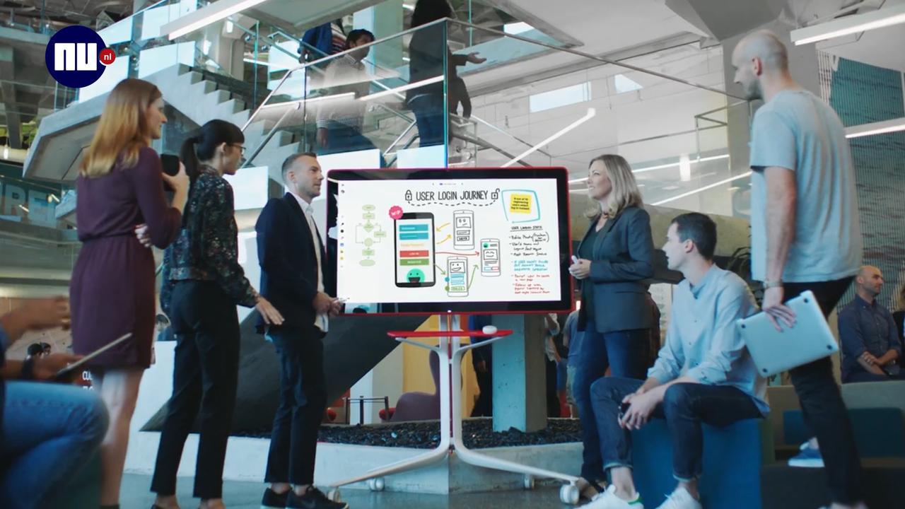 Digitaal whiteboard Google moet op afstand samenwerken makkelijker maken