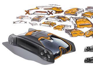 Opel toont een blik in de verre toekomst