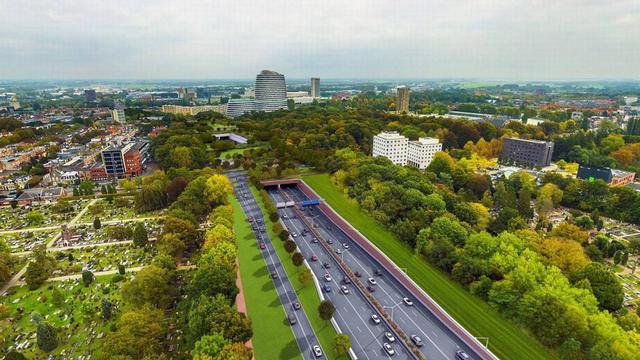 Reconstructie van zuidelijke ringweg Groningen kan doorgaan