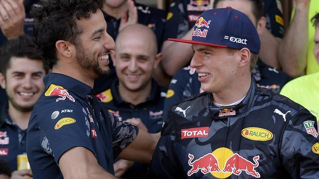 Teambaas Horner vindt Verstappen en Ricciardo sterkste duo in Formule 1