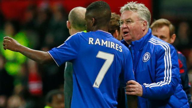 Hiddink ziet Ramires voor 33 miljoen euro naar China vertrekken
