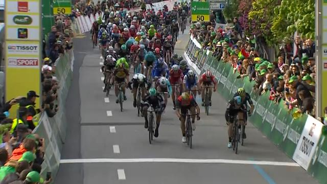 Viviani wint massasprint in derde etappe ronde van Romandië
