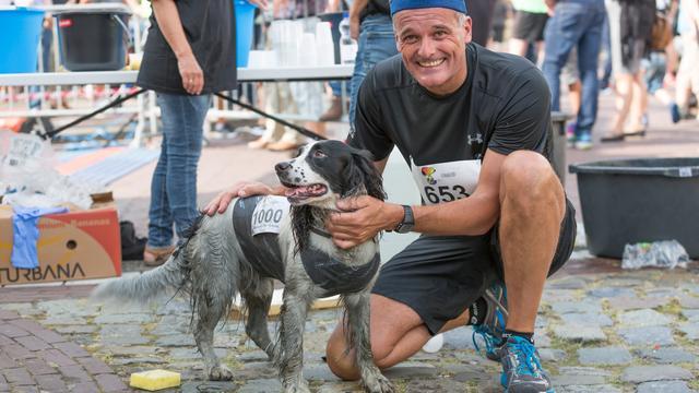 Erwin Harmes wint Halve Marathon Tholen