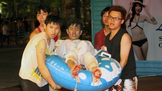 Honderden gewonden door brand in waterpark Taiwan