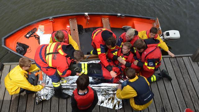 Middelburg zaterdag decor voor grote rampenoefening