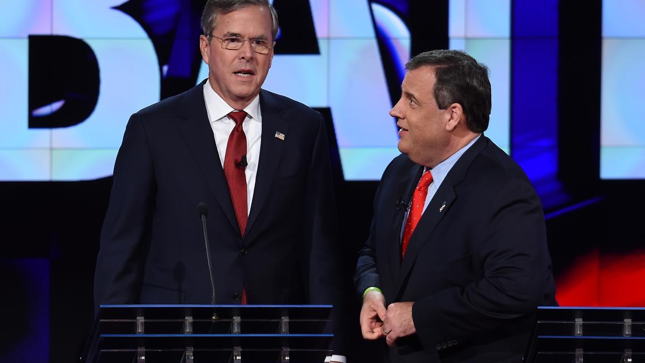 Jeb Bush opent aanval op Donald Trump bij debat