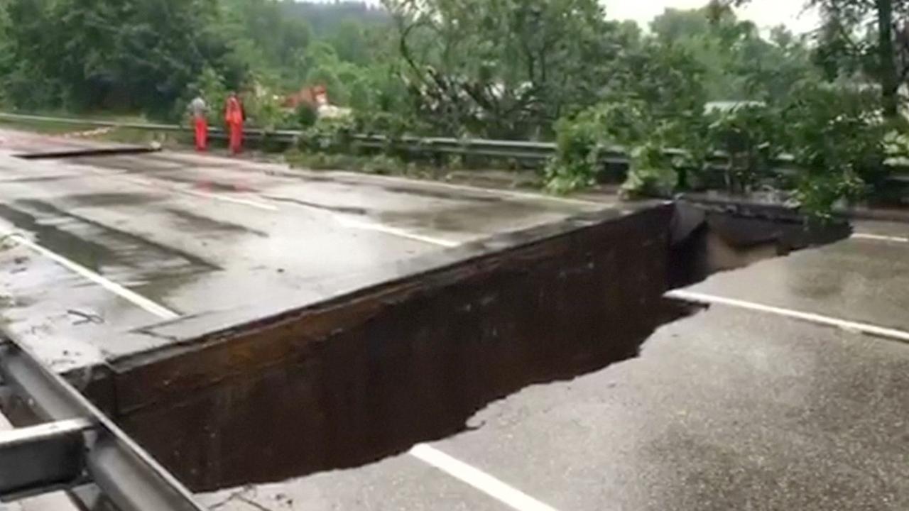 Ravage in zuiden Duitsland door overstromingen