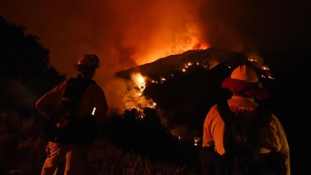 Bosbranden Californië breiden zich verder uit