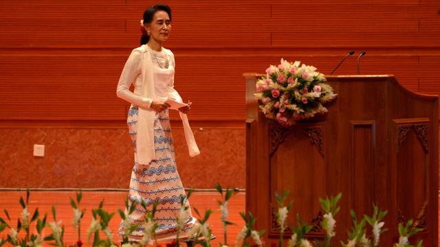 Vredesbesprekingen van start in Myanmar