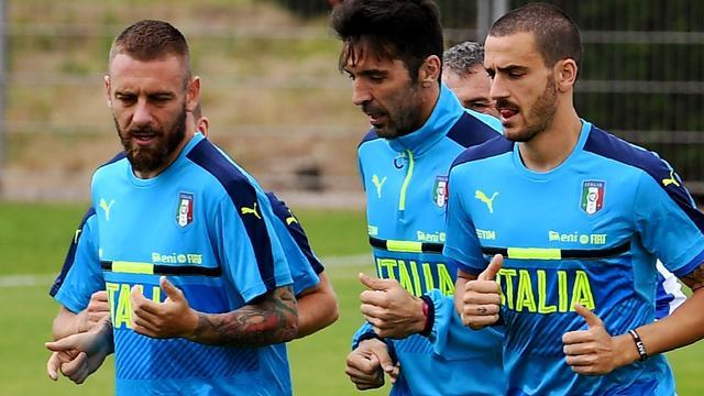 Italië waarschijnlijk zonder De Rossi, ook Candreva onzeker