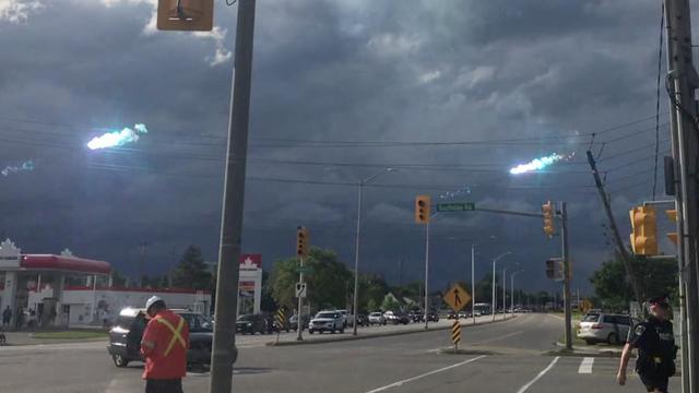 Elektriciteitsdraden slaan op hol in Canada