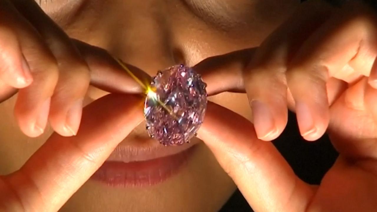 Dit is de duurste diamant ter wereld