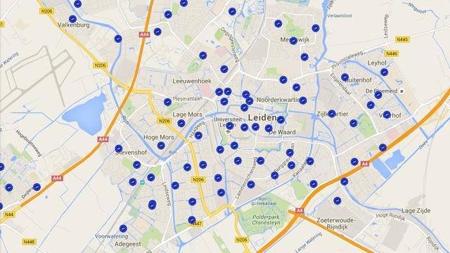 16 stembureaus minder in Leiden tijdens Oekraïne-referendum