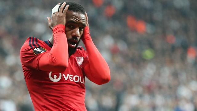 Lyon mist Lacazette in heenduel met Ajax in halve finale Europa League