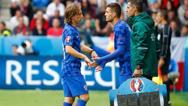 Kroatië waarschijnlijk zonder Modric in laatste groepsduel met Spanje