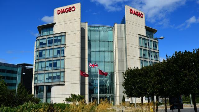 Drankenproducent Diageo houdt drankverkoop stabiel