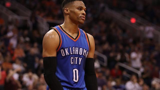 Westbrook nog vier 'triple-doubles' verwijderd van NBA-record