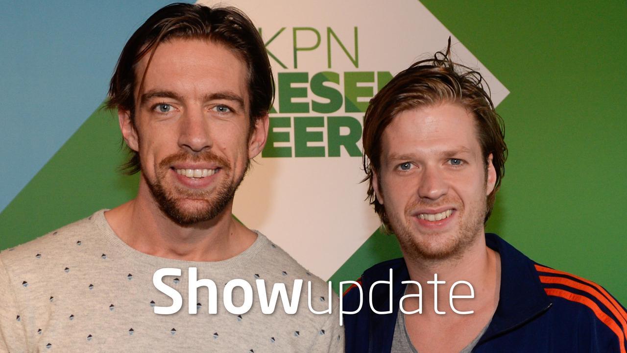 Show Update: Mattie Valk en Wietze de Jager geboeid