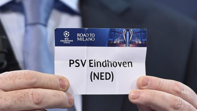 PSV in pot 3 bij loting Champions League