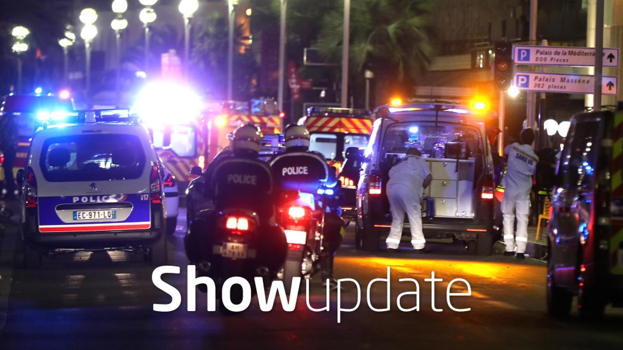 Show Update: Wereld in diepe rouw na aanslag Nice