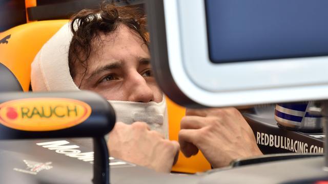 Teleurgestelde Ricciardo voelt zich schuldig na crash in kwalificatie