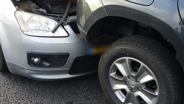 Aantal schadeclaims na ongeval met auto met 8 procent toegenomen