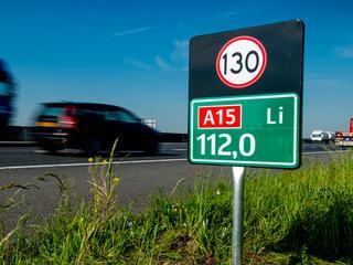 Verschillende snelheid op snelweg zorgt voor onduidelijkheid