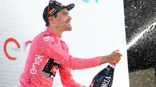 Dumoulin vreest roze trui in Giro zondag kwijt te raken aan Kittel