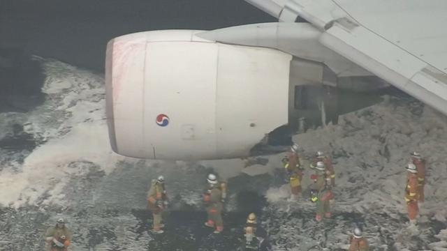 Vliegtuig geëvacueerd na brand in motor