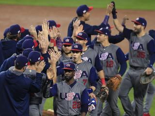 Amerika voor het eerst in eindstrijd World Baseball Classic