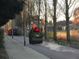 Nieuw weggetje loopt langs Rissebeek
