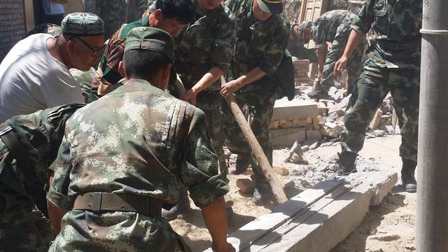 Dodental aardverschuiving China loopt op naar 34