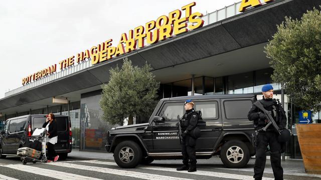 Mogelijke terreurdreiging bij vliegveld Rotterdam