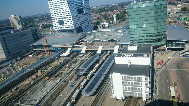 Dit paasweekend veel minder treinen van en naar Utrecht Centraal