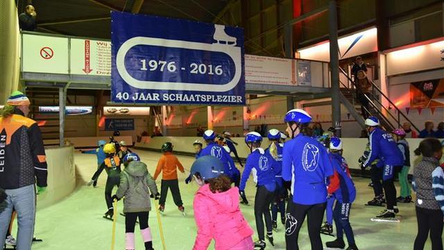 Schaatshal Leiden al veertig jaar een fenomeen
